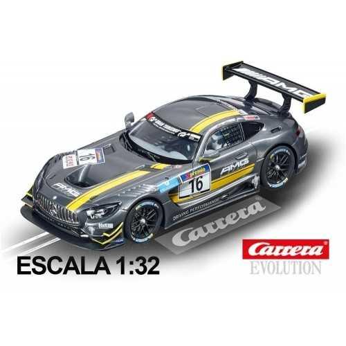 Coche Carrera Evolution Mercedes AMG GT3 nº 16