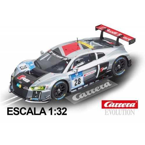 Coche Carrera Evolution Audi R8 LMS Audi Sport 28