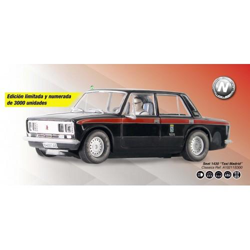 Assento de carro analógico Scalextric 1430 Táxi Madrid Special Ed