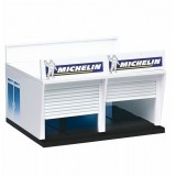 Edificio decoracion Pit Stop Lane con Boxes Carrera 132-124