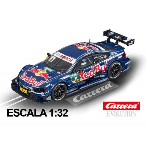 Coche Carrera Evolution BMW M4 DTM Wittmann Red Bull