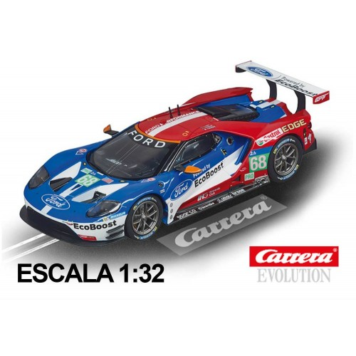 Coche Carrera Evolution Ford GT Race Car