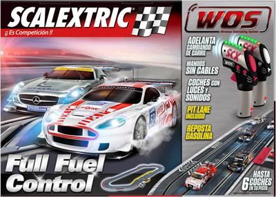 El Mejor Circuito de Scalextric WOS Full Fuel Control Al Mejor Precio