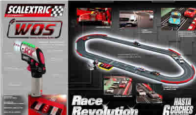 Circuito WOS Scalextric Race Revolution