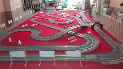 Circuito de Scalextric WOS en Mérida