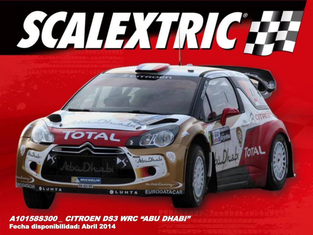 A10158S300 CITROEN DS3 WRC ABU DHABI LOEB