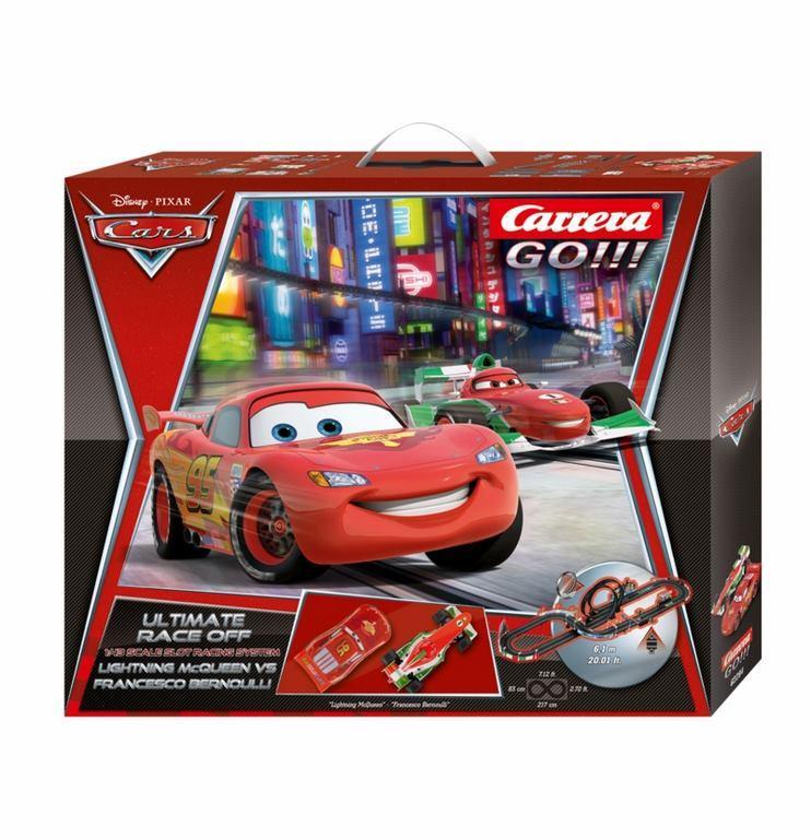 Circuito Carrera Go Disney Cars Race Off