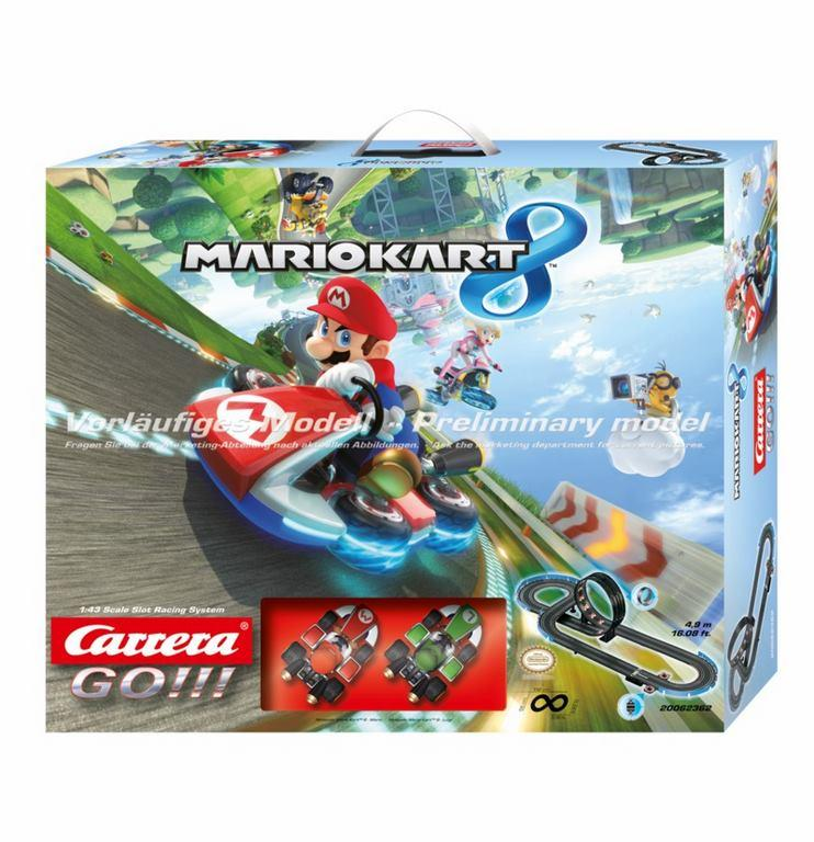 Circuito Carrera Go Mario Kart 8