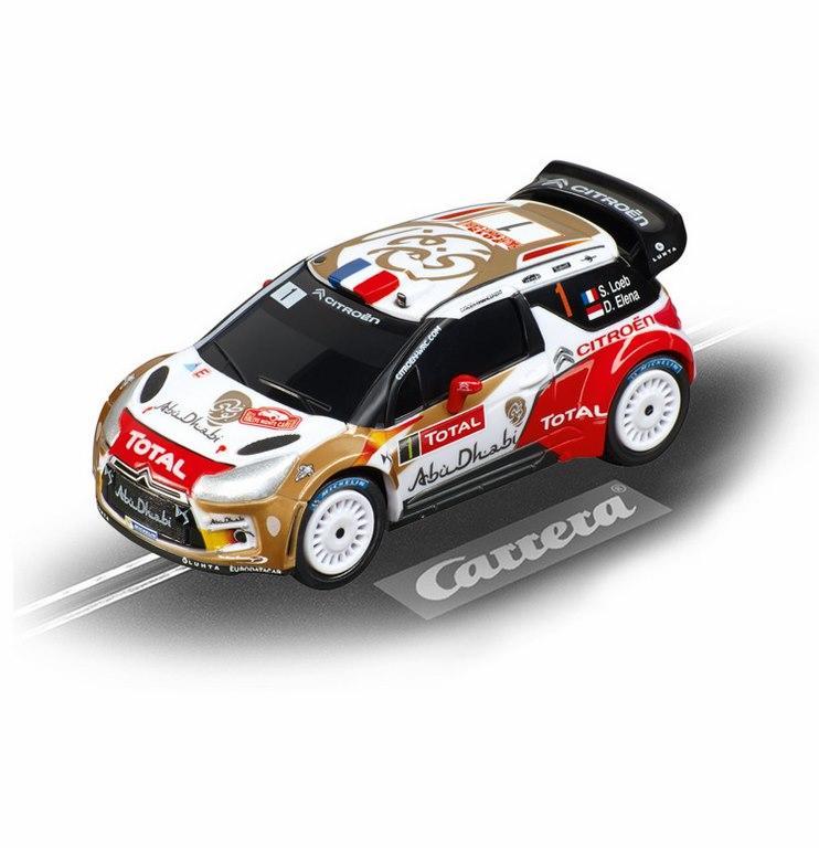 Coches Carrera Go Citroen DS3 WRC Abu Dhabi