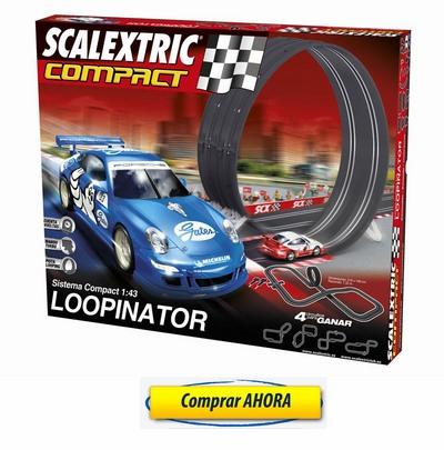 comprar Circuitos de Scalextric Compact LOOPINATOR barato