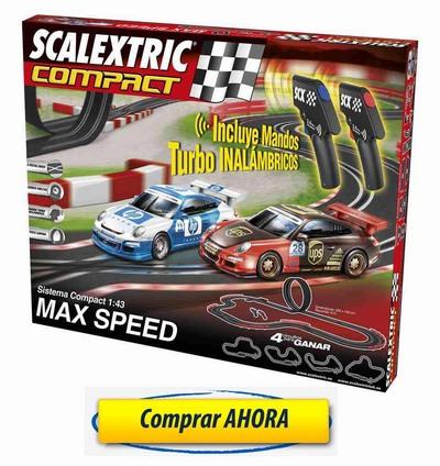 Comprar-Circuitos-de-Scalextric-Compact-Max-Speed-Inalambrico-barato