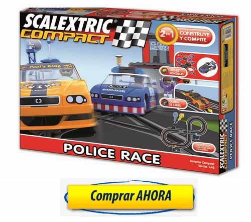 Circuitos de Scalextric Compact Police Race comprar barato