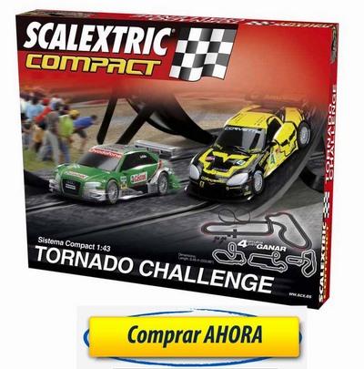 comprar Circuitos de Scalextric Compact Tornado Challenge barato