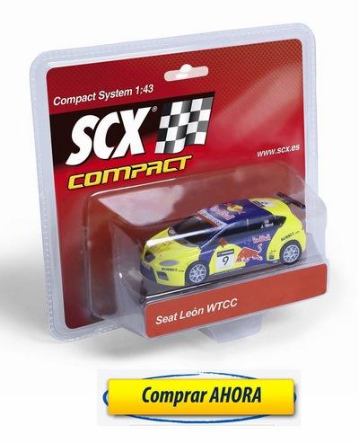 comprar Coches de Scalextric COmpact Seat Leon WTCC Gene barato