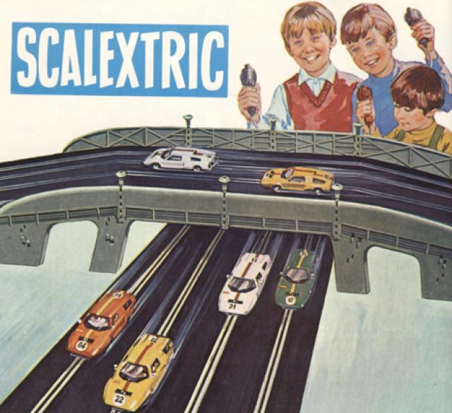 anuncio Scalextric antiguo