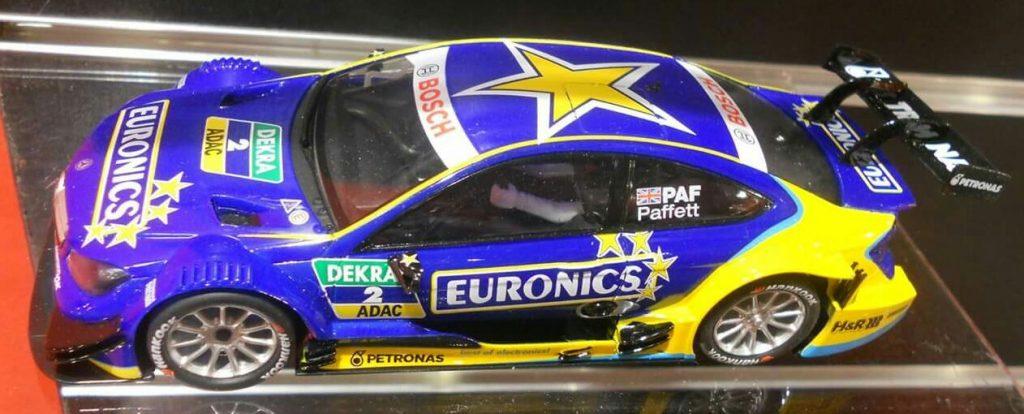 coche Scalextric Mercedes AMG C Coupé DTM Paffet