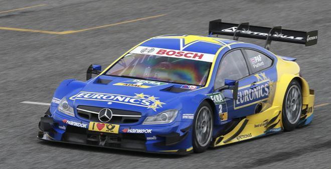 coche Scalextric Mercedes AMG C Coupé DTM Paffet comprar