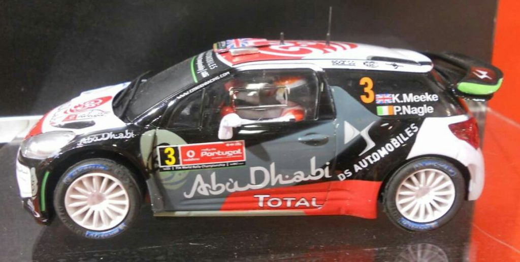 coche scalextric Citroën DS3 WRC Rally Portugal