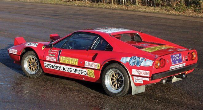 coche scalextric Ferrari 308 GTO Zanini.