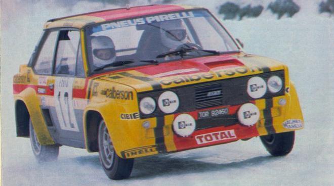 coche scalextric Fiat 131 Abarth Mouton Montecarlo