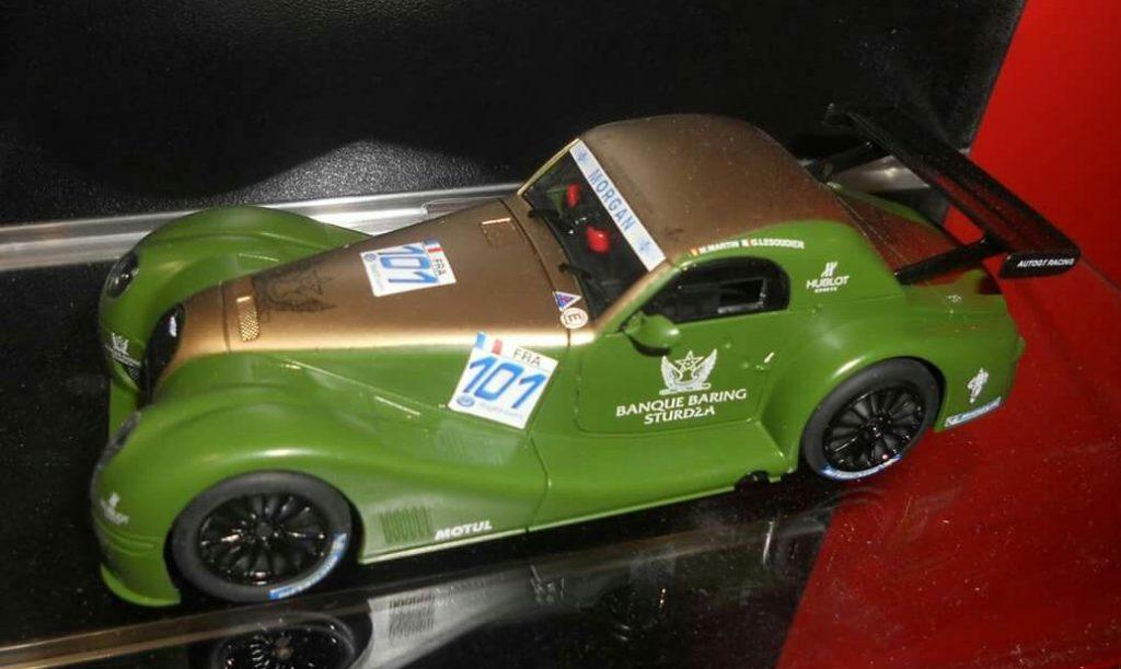 coche scalextric Morgan Aero R silverstone comprar
