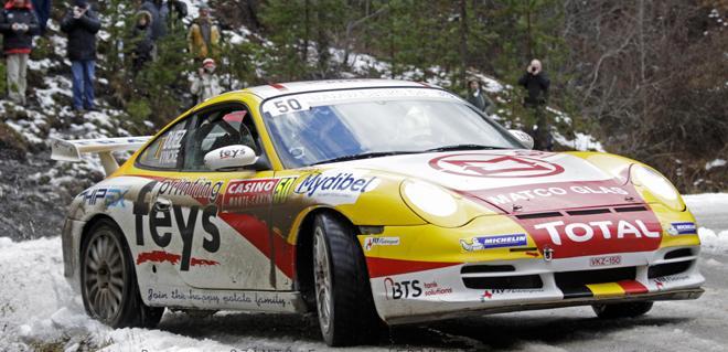 coche scalextric Porsche 911 GT3 Rally Marc Duez montecarlo 14 comprar