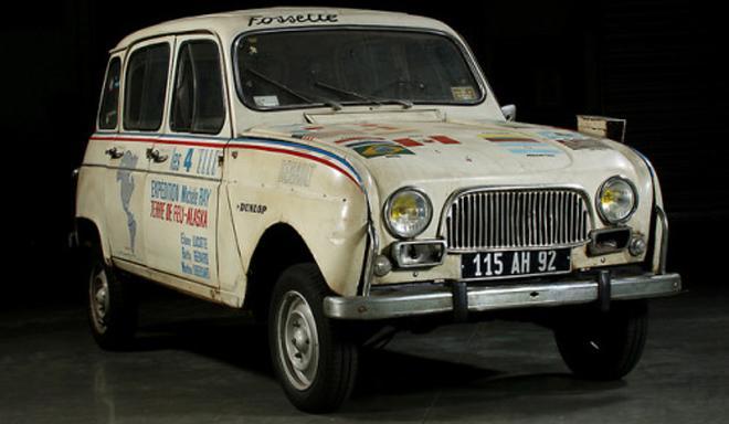 coche scalextric Renault 4L Alaska