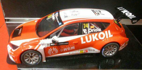 coche scalextric Seat Leon Oriola