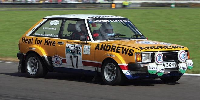 coche scalextric Talbot Sunbeam Andrews