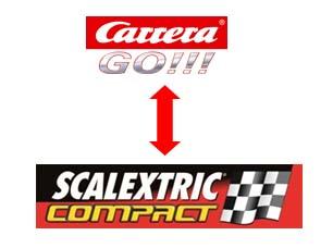 compatibilidad go Carrera Go Scalextric compact