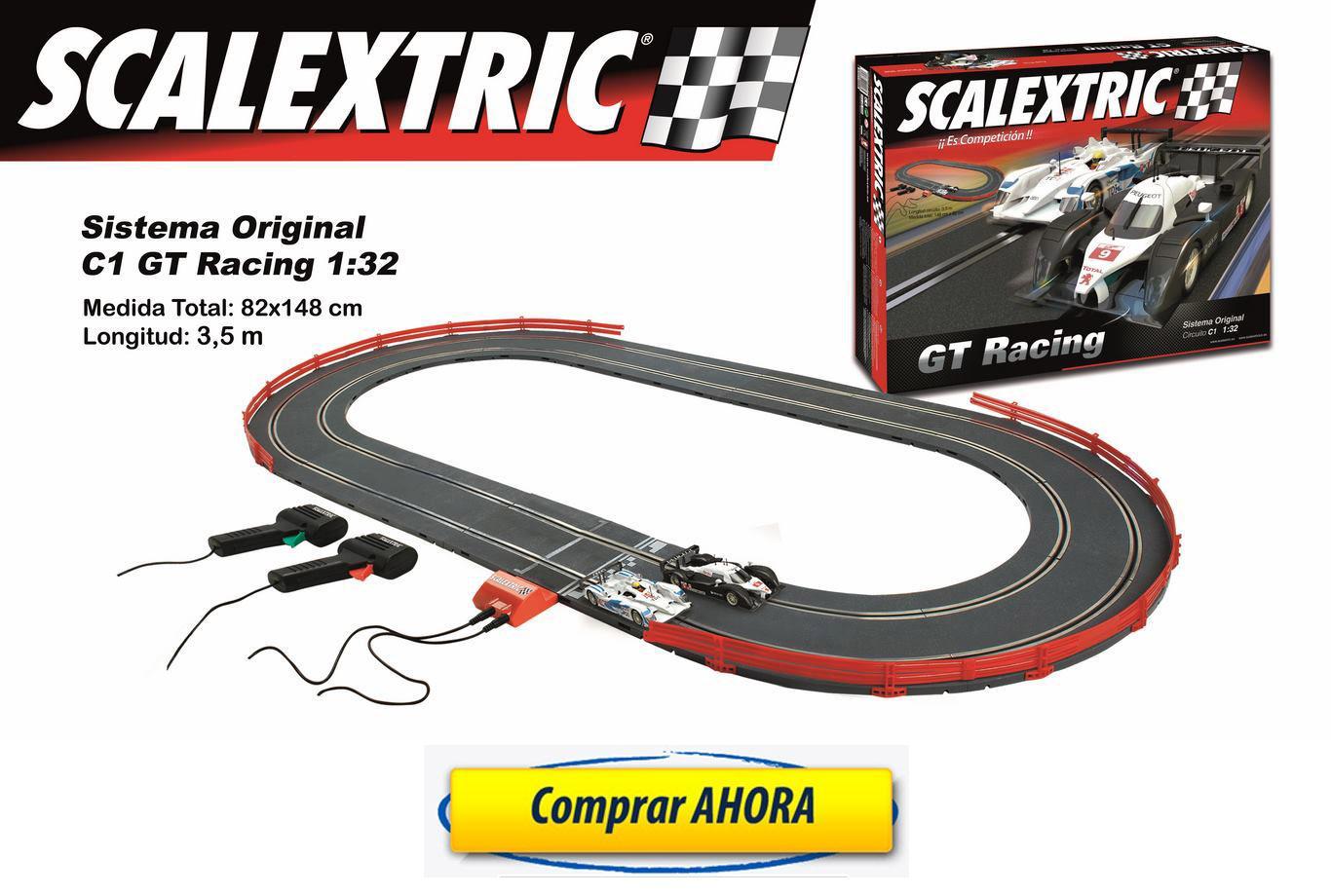 comprar Circuito de Scalextric Analogico C1 GT Racing