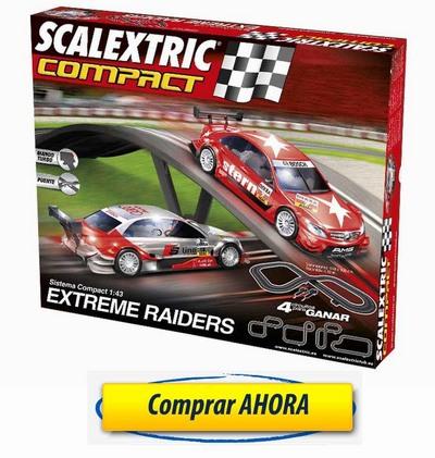 comprar Circuitos de Scalextric Compact Extreme Raiders barato