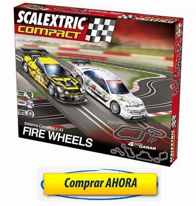 Comprar Circuitos de Scalextric Compact Fire Wheels barato