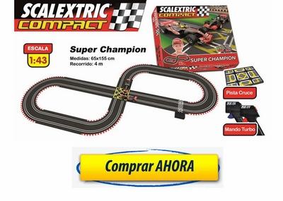 comprar Circuitos de Scalextric Compact Superchampion CC3D barato