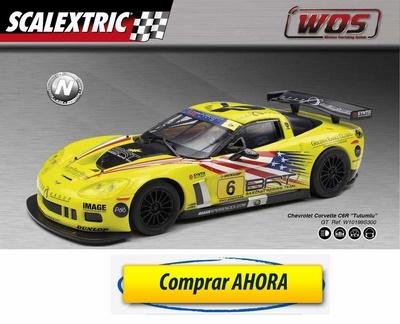 comprar Coche de Scalextric WOS Chevrolet Corvette C6R Tutumlu