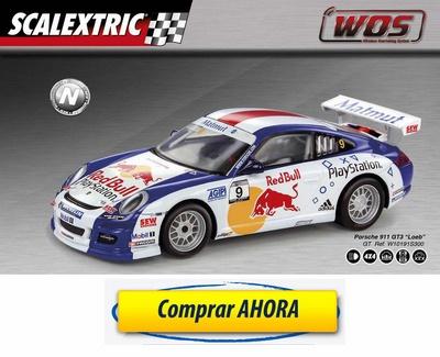 comprar Coche de Scalextric WOS Porsche 911 GT3 Loeb