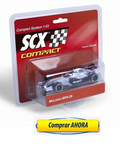 comprar Coches de Scalextric Compact F1 McLaren Button barato