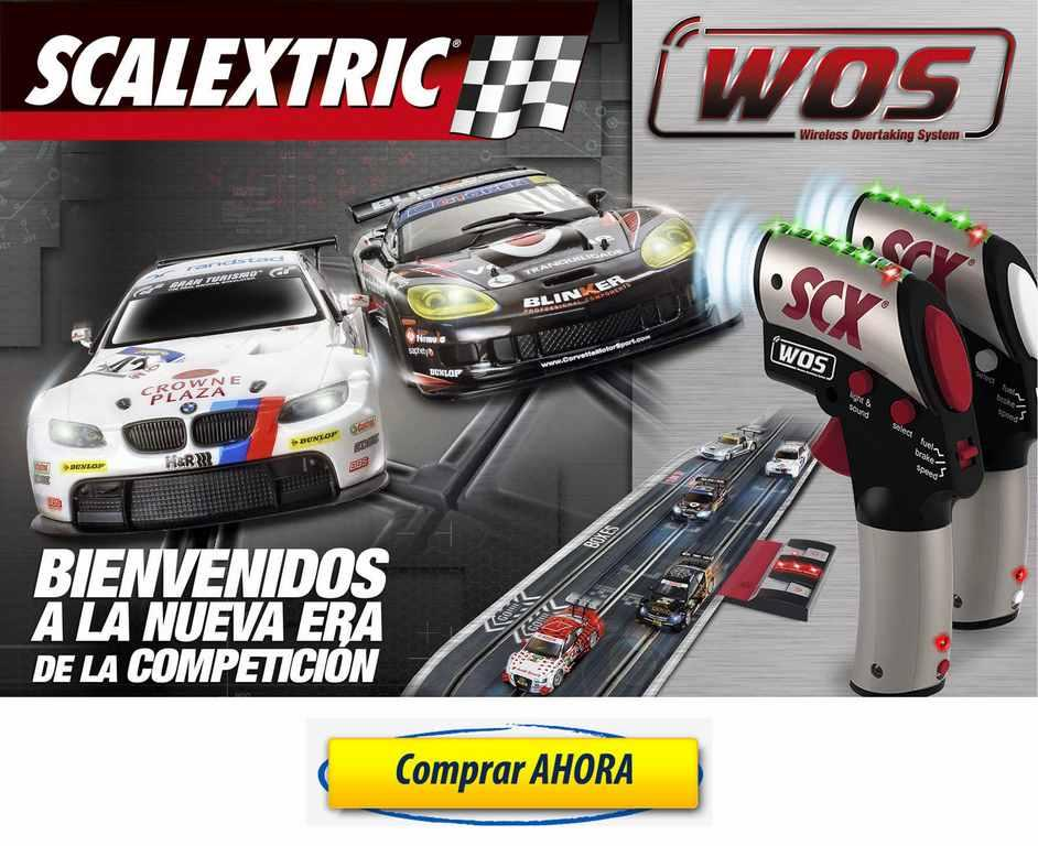 comprar Scalextric WOS