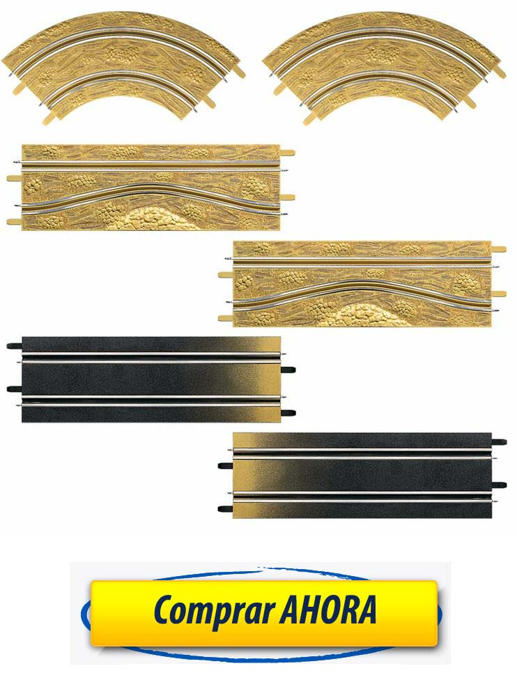 comprar accesorios decoracion Pack de ampliacion Rally pistas Carrera Go