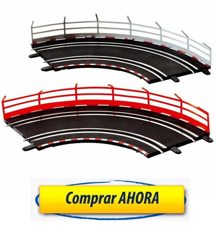 comprar accesorios decoracion Valla guardarrail 10 ud Carrera Go