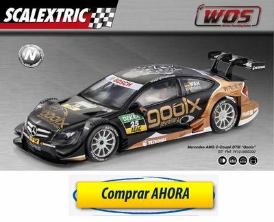 comprar coche de Scalextric WOS Mercedes AMG C-Coupe DTM Gooix