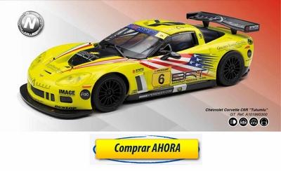 comprar coche de scalextric analogico Chevrolet Corvette C6R Tutumlu
