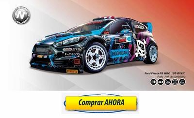 comprar coche de scalextric analogico Ford Fiesta RS WRC Ken Block ST RX43
