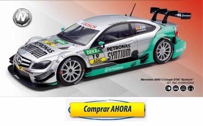 comprar coche de scalextric analogico Mercedes AMG C Coupe DTM Syntium