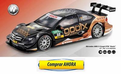 comprar coche de scalextric analogico Mercedes AMG CCoupe DTM Gooix
