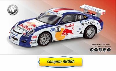 comprar coche de scalextric analogico Porsche 911 GT3 Loeb