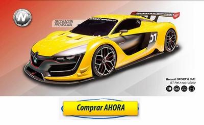 comprar coche de scalextric analogico Renault Sport RS 01