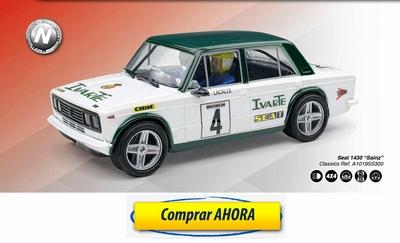 comprar coche de scalextric analogico Seat 1430 Sainz