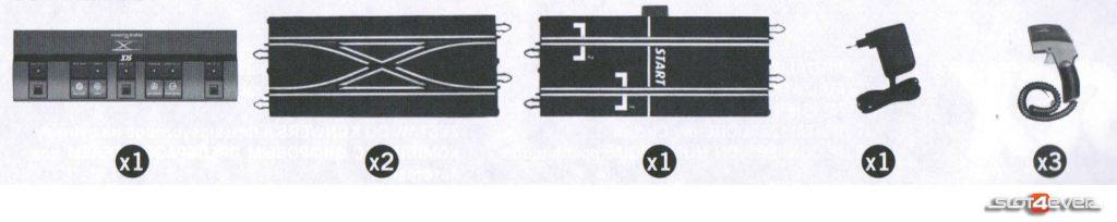 contenido Kit Digitalizador Circuitos Scalextric