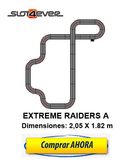 COMPRAR CIRCUITO DE SCALEXTRIC COMPACT EXTREME RAIDERS A